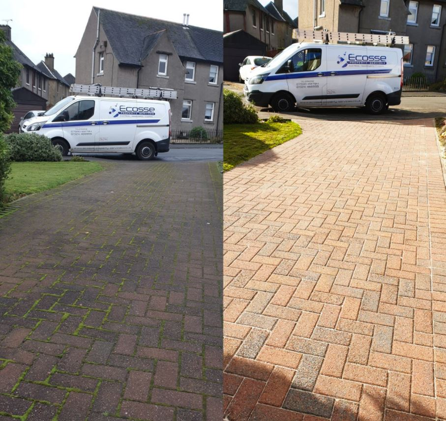 Driveway Pressure Cleaning Falkirk