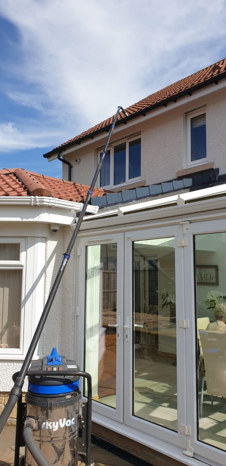 Gutter Cleaning Process Falkirk