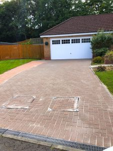 Pressure Washing Job Falkirk