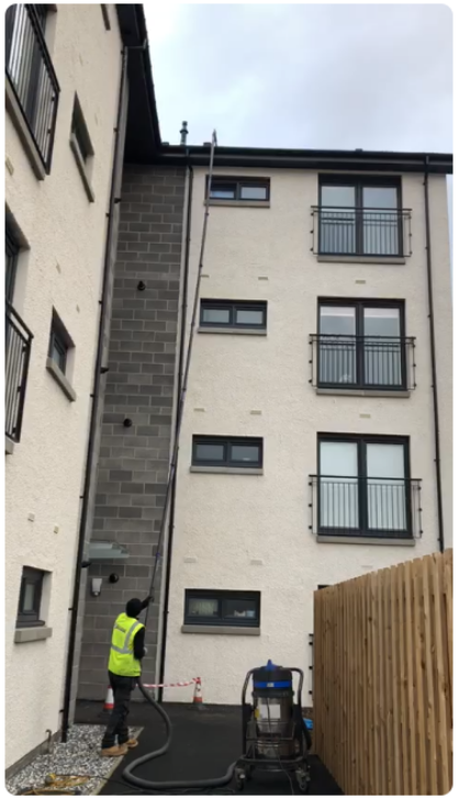 Gutter Cleaning in Falkirk